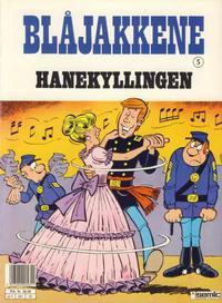 Cover Thumbnail for Blåjakkene (Semic, 1987 series) #5 - Hanekyllingen