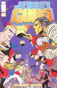 Cover Thumbnail for Jersey Gods (Image, 2009 series) #4 [Regular Cover - Michael Allred]