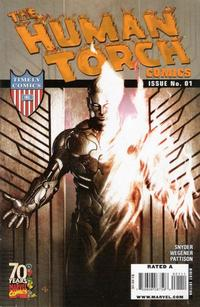 Cover Thumbnail for Human Torch Comics 70th Anniversary Special (Marvel, 2009 series) #1