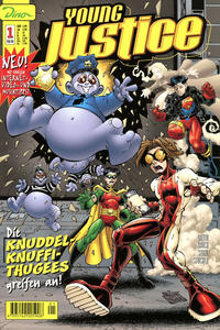 Cover Thumbnail for Young Justice (Dino Verlag, 2000 series) #1