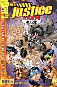 Cover Thumbnail for Young Justice (Dino Verlag, 2000 series) #4