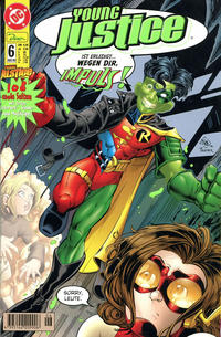 Cover Thumbnail for Young Justice (Dino Verlag, 2000 series) #6