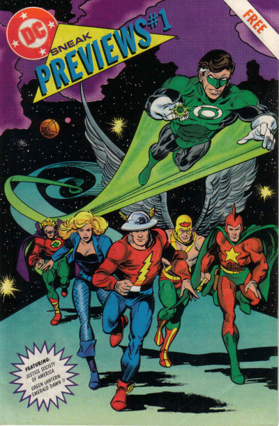 Cover for DC Sneak Previews (DC, 1991 series) #1