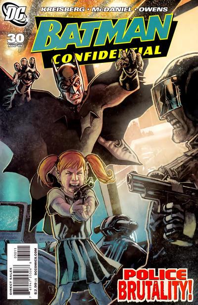 Cover for Batman Confidential (DC, 2007 series) #30