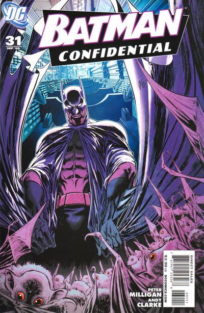 Cover for Batman Confidential (DC, 2007 series) #31