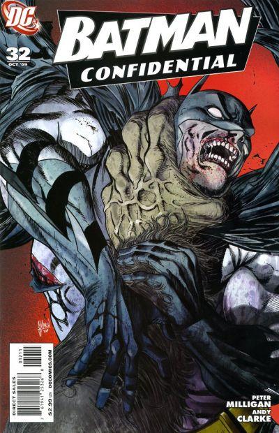 Cover for Batman Confidential (DC, 2007 series) #32