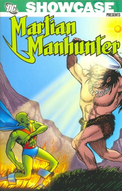 Cover for Showcase Presents: Martian Manhunter (DC, 2007 series) #2