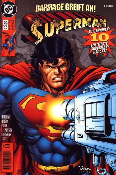 Cover for Superman (Dino Verlag, 1996 series) #39