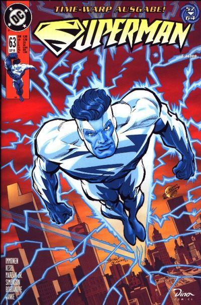 Cover for Superman (Dino Verlag, 1996 series) #63
