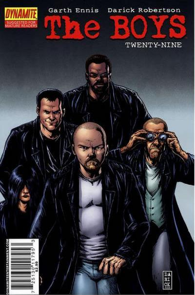 Cover for The Boys (Dynamite Entertainment, 2007 series) #29 [Cover B]