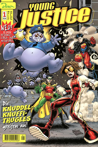 Cover for Young Justice (Dino Verlag, 2000 series) #1