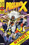 Cover for Prosjekt X (Semic, 1984 series) #1/1984