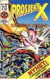 Cover for Prosjekt X (Semic, 1984 series) #2/1984