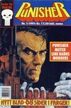 Cover for Punisher; Punisher War Zone (Bladkompaniet / Schibsted, 1991 series) #1/1991