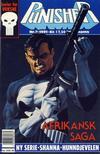 Cover for Punisher; Punisher War Zone (Bladkompaniet / Schibsted, 1991 series) #2/1991