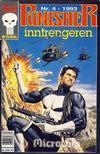 Cover for Punisher; Punisher War Zone (Bladkompaniet / Schibsted, 1991 series) #4/1993