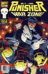 Cover for Punisher; Punisher War Zone (Bladkompaniet / Schibsted, 1991 series) #2/1995