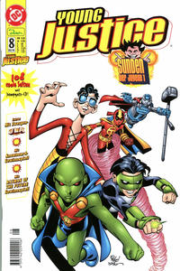 Cover Thumbnail for Young Justice (Dino Verlag, 2000 series) #8
