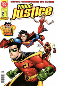 Cover Thumbnail for Young Justice (Dino Verlag, 2000 series) #9