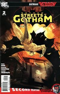 Cover Thumbnail for Batman: Streets of Gotham (DC, 2009 series) #2