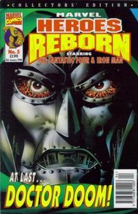 Cover Thumbnail for Marvel Heroes Reborn (Panini UK, 1997 series) #5