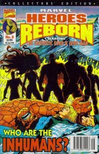 Cover Thumbnail for Marvel Heroes Reborn (Panini UK, 1997 series) #8