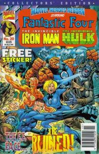 Cover for Marvel Heroes Reborn (Panini UK, 1997 series) #20