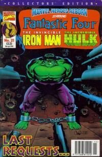 Cover Thumbnail for Marvel Heroes Reborn (Panini UK, 1997 series) #21