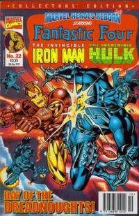 Cover Thumbnail for Marvel Heroes Reborn (Panini UK, 1997 series) #22