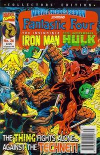 Cover Thumbnail for Marvel Heroes Reborn (Panini UK, 1997 series) #26