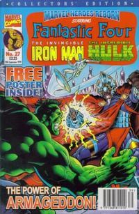 Cover Thumbnail for Marvel Heroes Reborn (Panini UK, 1997 series) #27