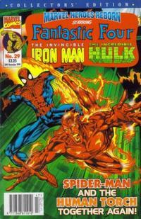 Cover Thumbnail for Marvel Heroes Reborn (Panini UK, 1997 series) #29