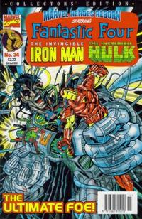 Cover Thumbnail for Marvel Heroes Reborn (Panini UK, 1997 series) #34
