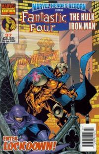 Cover Thumbnail for Marvel Heroes Reborn (Panini UK, 1997 series) #37