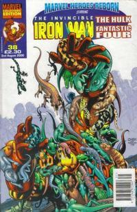 Cover Thumbnail for Marvel Heroes Reborn (Panini UK, 1997 series) #38