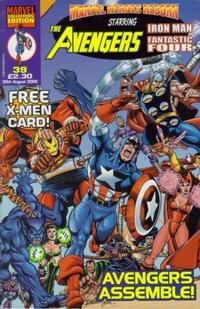 Cover Thumbnail for Marvel Heroes Reborn (Panini UK, 1997 series) #39