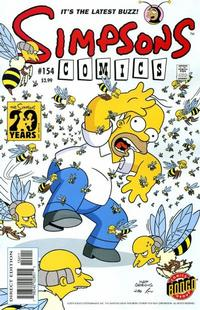Cover Thumbnail for Simpsons Comics (Bongo, 1993 series) #154