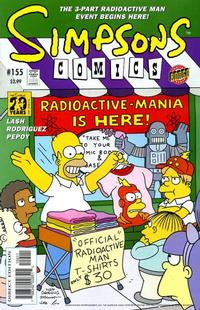Cover Thumbnail for Simpsons Comics (Bongo, 1993 series) #155
