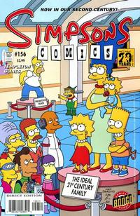 Cover Thumbnail for Simpsons Comics (Bongo, 1993 series) #156