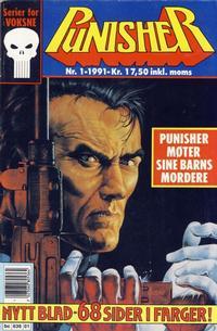 Cover Thumbnail for Punisher; Punisher War Zone (Bladkompaniet / Schibsted, 1991 series) #1/1991