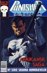 Cover Thumbnail for Punisher; Punisher War Zone (Bladkompaniet / Schibsted, 1991 series) #2/1991