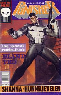 Cover Thumbnail for Punisher; Punisher War Zone (Bladkompaniet / Schibsted, 1991 series) #3/1991