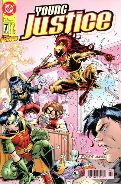 Cover for Young Justice (Dino Verlag, 2000 series) #7