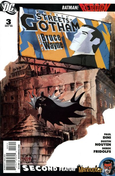 Cover for Batman: Streets of Gotham (DC, 2009 series) #3