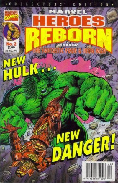Cover for Marvel Heroes Reborn (Panini UK, 1997 series) #2