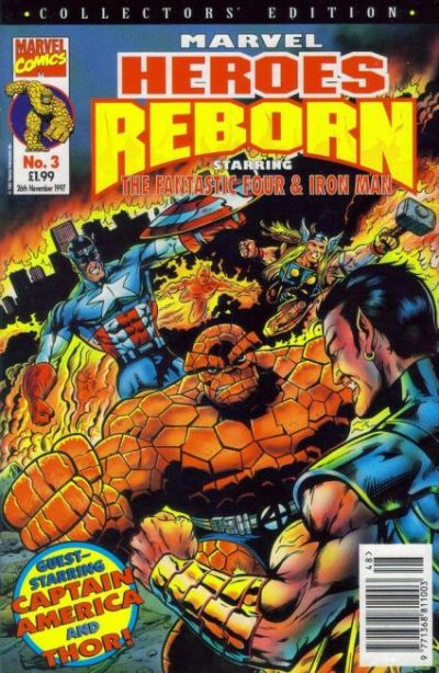 Cover for Marvel Heroes Reborn (Panini UK, 1997 series) #3