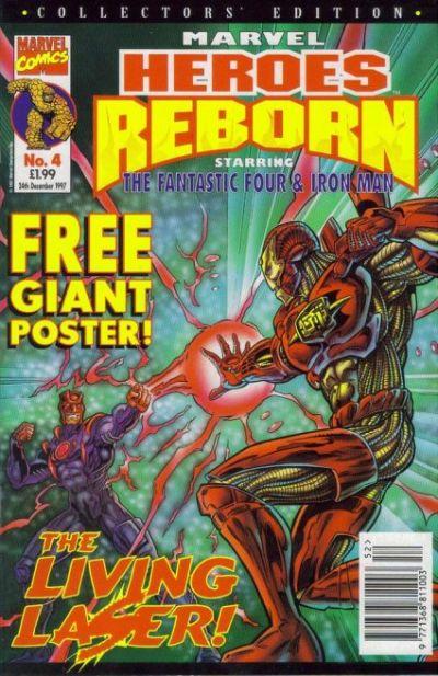 Cover for Marvel Heroes Reborn (Panini UK, 1997 series) #4