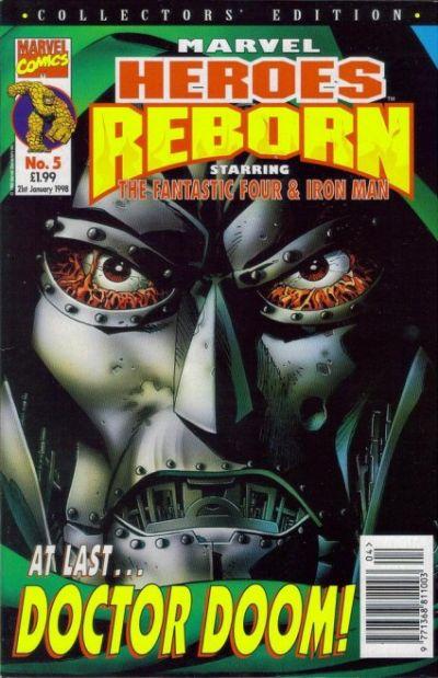 Cover for Marvel Heroes Reborn (Panini UK, 1997 series) #5