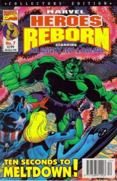 Cover for Marvel Heroes Reborn (Panini UK, 1997 series) #7