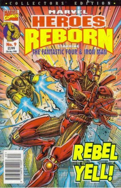 Cover for Marvel Heroes Reborn (Panini UK, 1997 series) #9